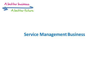 Service Management Business