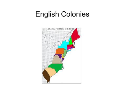 English Colonies. Introduction… Hi! I'm Miss Holly. Welcome to Level 5 Social Studies! Today you will learn about English colonization.