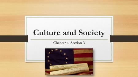 Culture and Society Chapter 4, Section 3. Life in the Colonies Immigration: permanent moving of one country to another Main reason for population growth.