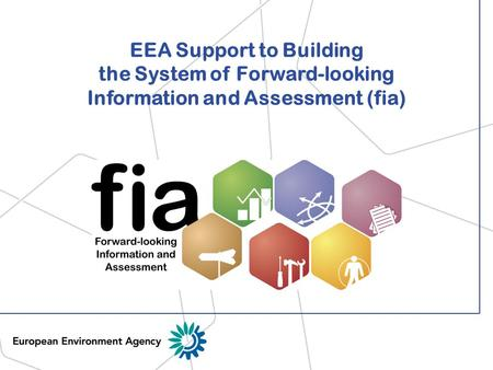 EEA Support to Building the System of Forward-looking Information and Assessment (fia)