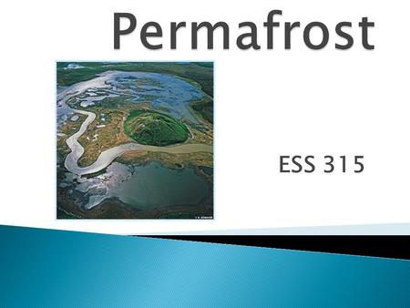 ESS 315.  Any rock/soil at or below the freezing point of water.  Remains below 0 degrees Celsius continuously for two years.  Ice is not necessarily.