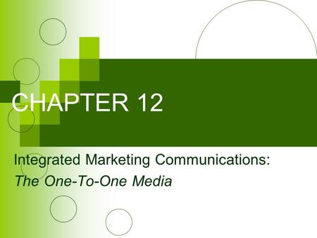 integrated marketing communications of xbox one Integrated marketing communications (imc) is the use of marketing strategies to optimise the communication of a consistent message of the company's brands to stakeholders.