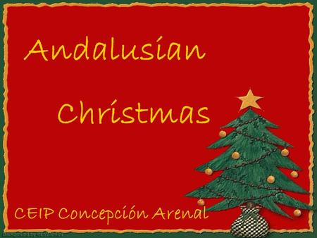 "Andalusian Christmas CEIP Concepción Arenal. Date by date »22nd Dec: considered for most the starting point for Christmas because of ""El Gordo"" (the biggest."