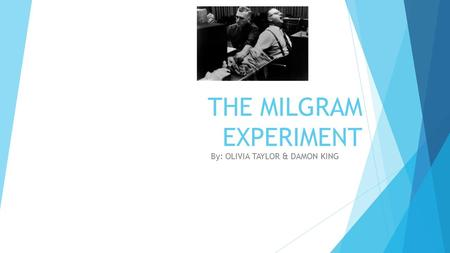 punishment in the milgram obedience experiment essay