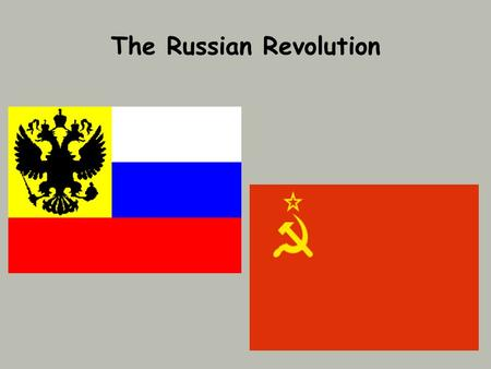 The Russian Revolution. Pre-Revolutionary Russia Nicholas II became tsar in 1884. Absolute ruler - only true autocrat left in Europe No type of representative.
