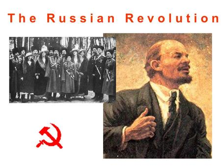 T h e R u s s i a n R e v o l u t i o n. Introduction The Russian Revolution occurred in the year 1917. Actually there were two Russian revolutions that.