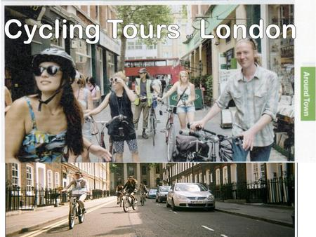 Four Companies - Fat tire bike tours - The london bicycle tour company - SPOKE'N MOTION guided bicycle tours - Cycle tours of London.