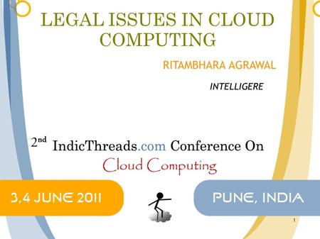 LEGAL ISSUES IN CLOUD COMPUTING