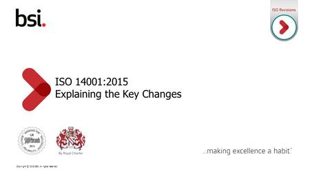 ISO 14001:2015 Explaining the Key Changes