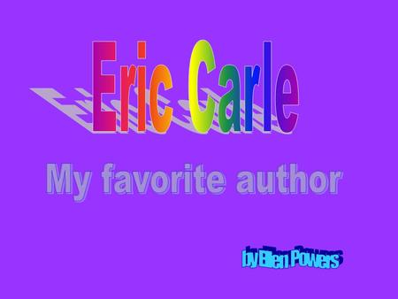 Can You Guess My Favorite Author? That's right! It's…