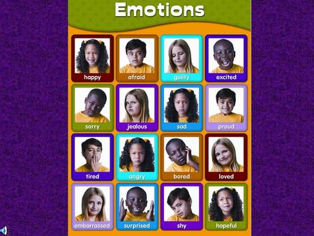 Emotions Whole-organism responses to a stimulus, involving: 1.Physiological arousal 2.Expressive behaviors 3.Conscious experience Mood – overall feeling.