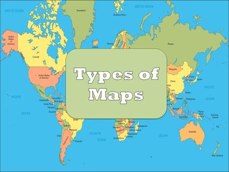 Types of Maps. Compass Rose: indicates which direction is north, south, east and west. Scale Key/Legend: explains symbols or colors used on the map. Scale:
