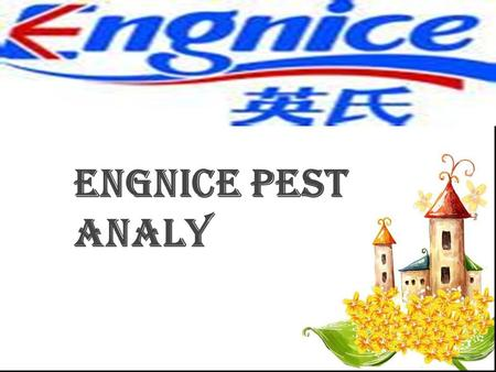 Engnice PEST Analy. 目录 一、 company describe 二、 social environment 三、 economic environment 四、 political environment 五、 technological environment.