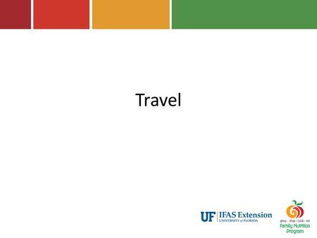 Travel. Handbook References Chapter 4: Reporting – Travel Report 2.