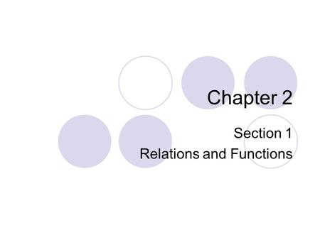 Chapter 2 Section 1 Relations and Functions. ALGEBRA 2 LESSON 2-1 Graph each ordered pair on the coordinate plane. 1. (–4, –8) 2. (3, 6) 3. (0, 0) 4.