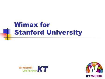 Wimax for Stanford University. 2 Cell planning Medical Area 0.25 miles West Campus 0.25 miles Central 0.2 miles East Campus 0.25 miles Athletics 0.25.