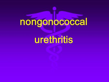 Nongonococcal urethritis. 1 、 Definition nongonococcal urethritis ( NGU ) is a urethritis transmitted by copulation with the evident symptom of urethritis.