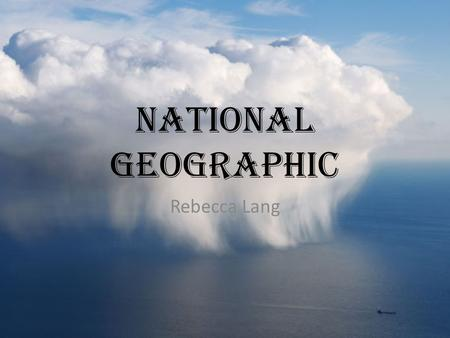 National Geographic Rebecca Lang. Great Resource Interactive Informative Numerous activities Classroom ideas Multiple links Limited/no advertisement Appealing.