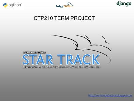 CTP210 TERM PROJECT