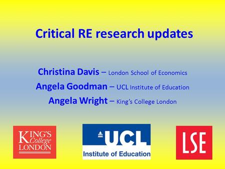 Critical thinking ethics University College London (UCL)