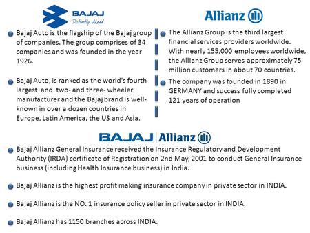 Bajaj Auto is the flagship of the Bajaj group of companies. The group comprises of 34 companies and was founded in the year 1926. Bajaj Auto, is ranked.