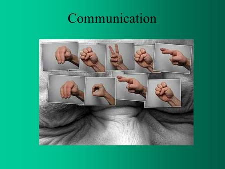 Communication. Definition It is an exchange of facts, ideas, opinions or emotions by two or more persons. It is the sum of all the things one person does.