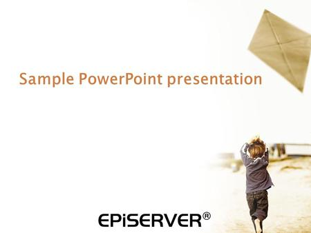 Sample PowerPoint presentation. Publish from Office Add-In  Installed as a add-in on your local computer  Enables both direct publishing and document.