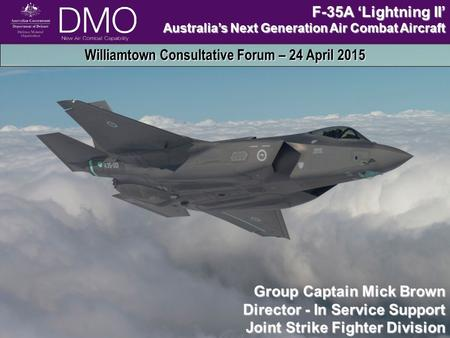 PROFESSIONALISE | RE-PRIORITISE | STANDARDISE | BENCHMARK | IMPROVE INDUSTRY RELATIONSHIPS AND INDUSTRY PERFORMANCE | LEAD REFORM UNCLASSIFIEDNew Air Combat.