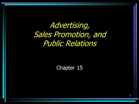 chapter 2 advertising and public relations Aside from personal ads and classifieds, mass advertising did not take off until  the penny press era of the early to mid-1800s, when high-circulation newspapers .