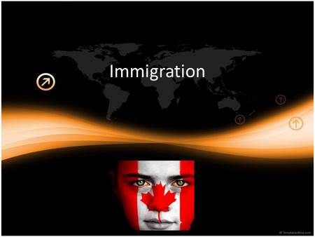 Immigration. Today ….. Factors that influence immigration Fact or Myth quiz! The history of immigration in Canada The 3 types of immigrants.