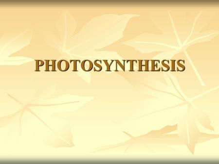 PHOTOSYNTHESIS. Adenosine Triphosphate (ATP) Energy-storing compound Energy-storing compound Made up of an adenosine compound with 3 phosphate groups.