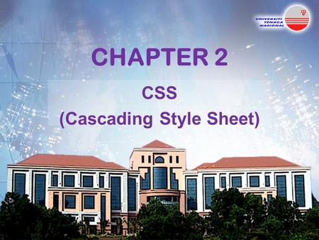 CHAPTER 2 CSS (Cascading Style Sheet). Topics Introduction Inline Styles Embedded Style Sheets Conflicting Styles Linking External Style Sheets Positioning.