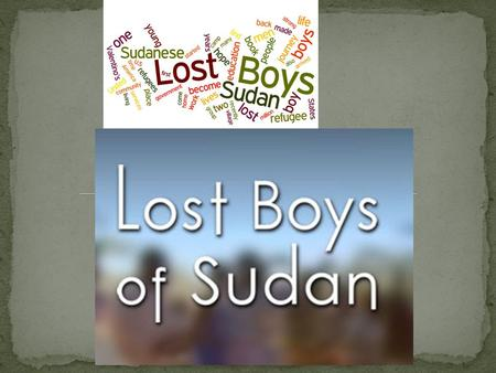 By: Nicole W.. There was a civil war between the northern and southern governments of Sudan. The government military burned villages which caused 17,000.