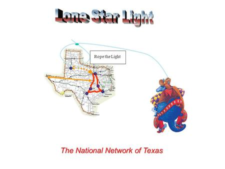 The National Network of Texas Rope the Light. Texas Network What do you expect from a Low Calorie Beer State Network? Process Incentives RFP generation.