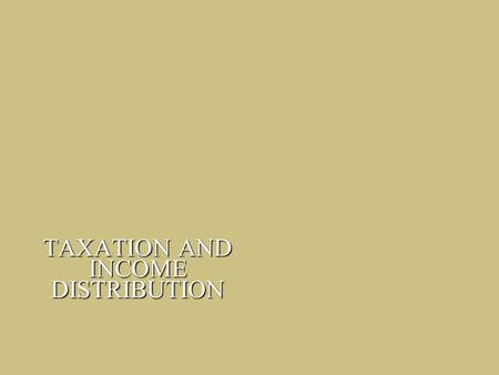 taxation and income distribution Fiscal year 2013 federal revenues came from four major sources: individual income tax (47 percent), payroll taxes (34 percent), corporate income ta.
