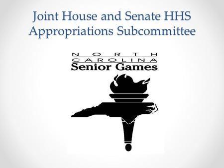Joint House and Senate HHS Appropriations Subcommittee.