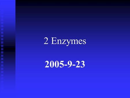2 Enzymes 2005-9-23. The Hill equation describes the behavior of enzymes that exhibit cooperative binding of substrate 1. some enzymes bind their substrates.