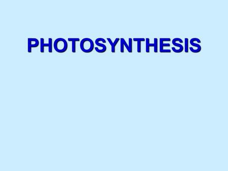 PHOTOSYNTHESIS. Photosynthesis anabolic, endergonic, carbon dioxide (CO 2 ) light energy (photons) water (H 2 O) organic macromolecules (glucose).An anabolic,