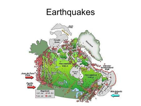 Earthquakes. An earthquake is a shaking of Earth's crust caused by a release of energy. Earthquakes are often more destructive than volcanoes because.