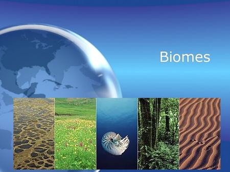 Biomes. Biome Biome: a large region characterized by a specific type of climate and certain types of plant and animal communities.