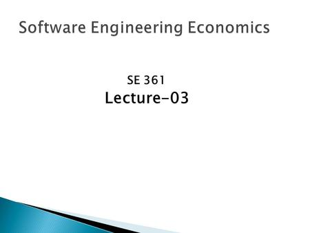 SE 361 Lecture-03. Science is defined as: a department of systematized knowledge as an object of study; knowledge or a system of knowledge covering.