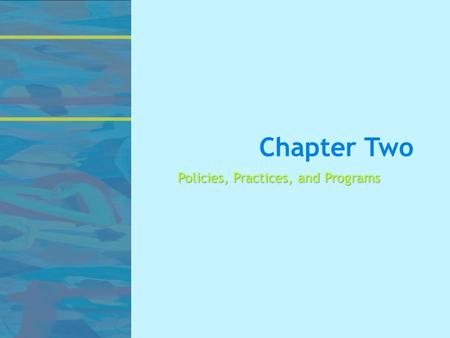 Chapter Two Policies, Practices, and Programs. Key Special Education Court Cases  Brown v. Board of Education of Topeka, Kansas (1954)  PARC v. Commonwealth.