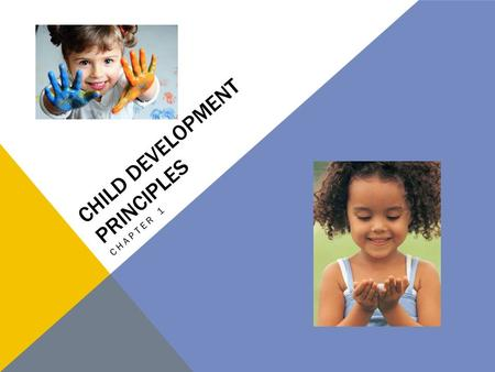 CHILD DEVELOPMENT PRINCIPLES CHAPTER 1. UNIT 1: LIFESPAN DEVELOPMENT Chapter 1: Child Development Principles Chapter 2: Adult Development Principles Chapter.