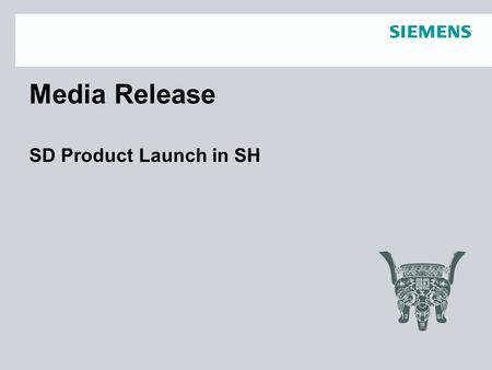 Media Release SD Product Launch in SH. Page 2 Dec.29 SLC I DT SDAlice 21 Websites released news 1 Gongkong.com 工控网 2 HV&AC 暖通空调 3 Sina.com 新浪网 4 Xwzcn.Com.