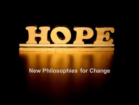 New Philosophies for Change. Dr. Mary Zournazi Senior Lecturer School of Social Sciences The University of New South Wales.