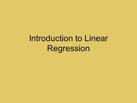 "Introduction to Linear Regression. Wake Forest Men's BBall HeightWeightHeightWeight 74""17579""205 74""19584""235 78""20084""230 73""18577""210 79""20572""170 80""25072""175."
