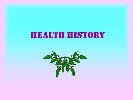 Health History. Inquiry history taking by questioning to take a history.