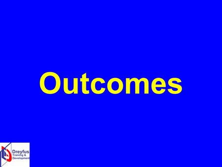 Outcomes. What is an outcome? An outcome can be defined as the benefit or difference made to an individual as a result of an intervention. 9.66.