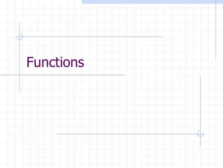 Functions. L62 Agenda Section 1.8: Functions Domain, co-domain, range Image, pre-image One-to-one, onto, bijective, inverse Functional composition and.