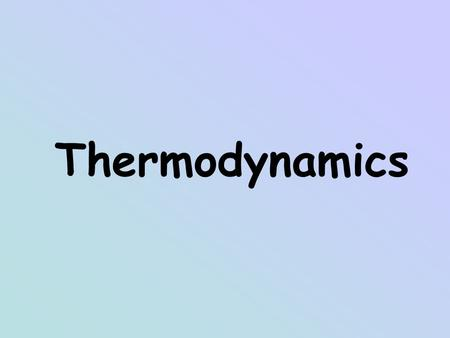 Thermodynamics. What is Temperature Temperature is a measure of the kinetic energy of matter. Collision between molecules causes energy transfer Motion.